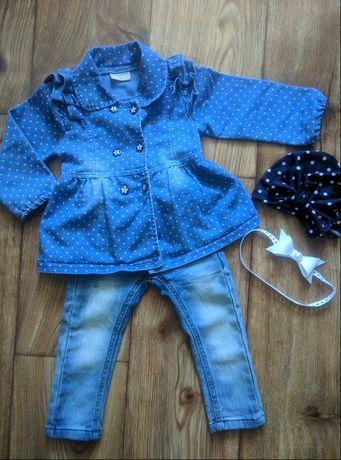 Джинсики и рубашечка для девочки