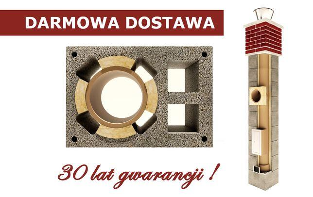Komin systemowy 8m KW2 system kominowy ceramiczny 30 lat GWARANCJI!