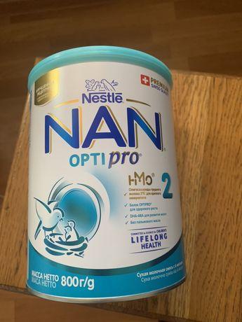 Nan optipro 2 новая закрытая банка