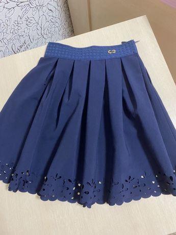 Девчачая школьная юбка