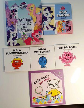 Książeczki dla dzieci 6 szt.