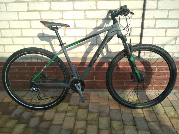 велосипед cube Rock Shox 29 найнер + Specialized trek cannondale