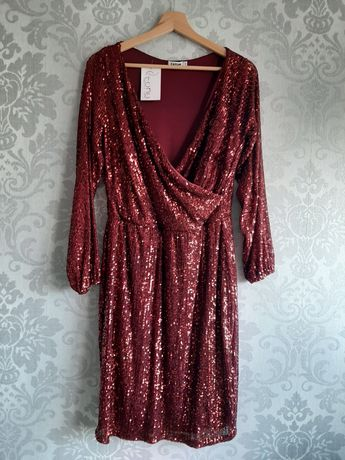 Sukienka cekinowa Tono 42 NOWA