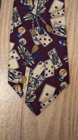 Красивый шелковый галстук windsor