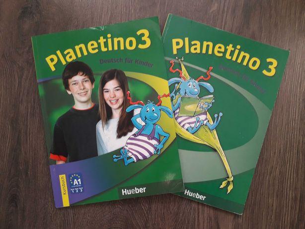 Planetino 3 Учебник + Тетрадь (комплект) немецкий язык