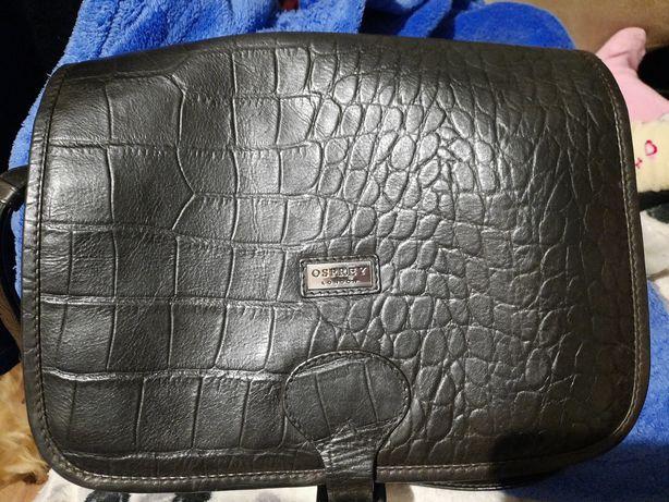 Очень крутая шоколадно тёмного цвета сумка