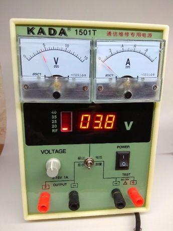 Лабораторный KADA 15в 1а аналоговый+цифровой блок питания RF тестер