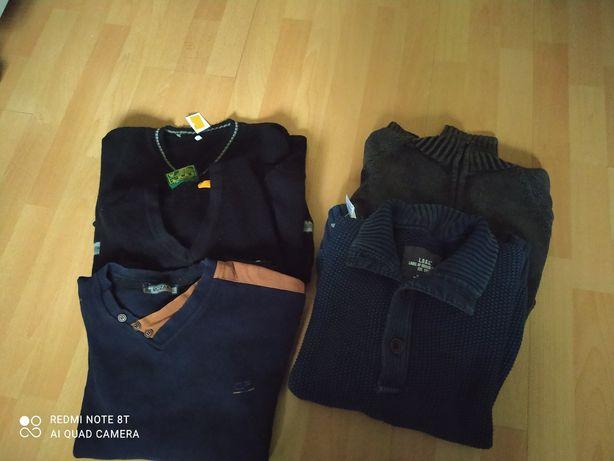 Zestawy swetrów męskich L