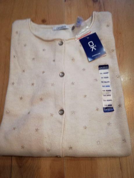 Sweter rozpinany Okaidi