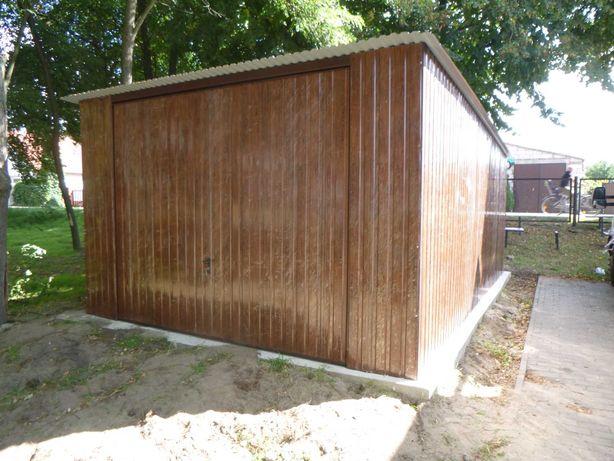 Garaż blaszany Schowek Magazyn na budowę Wzmocniony 2x3 3x4 3x5