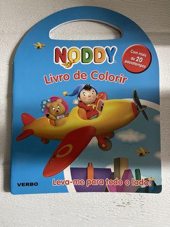Livro de Colorir do Noddy - de Enid Blyton