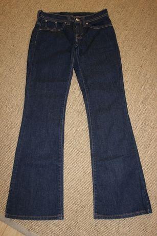 LEVIS jeansy dzwony r. 36 granatowe super!