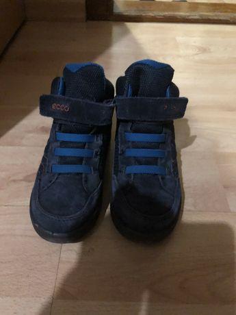 Зимові зимние термо ботинки ECCO.Сапоги.Ботінки.Сапожки.