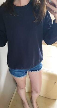 Granatową bluza rozmiar M Pierre Cardin