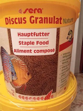 Comida para peixes Granulado da SERA Nature