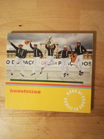 Cd álbum Roda de Choro de Lisboa