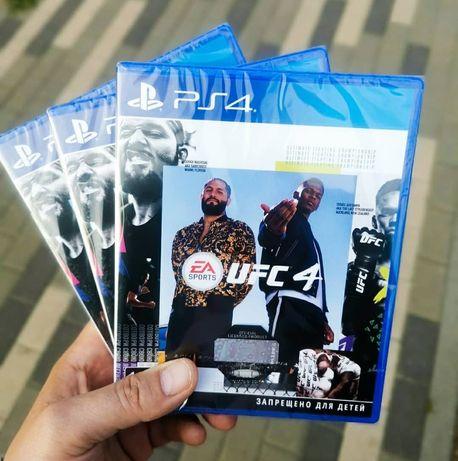 UFC 4 PS4 ufc 3 INJUSTICE 2 игры The Witcher ps4 аккаунты world war z