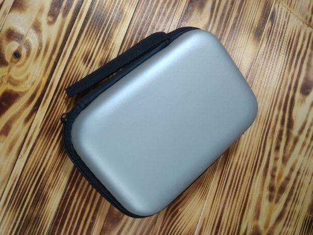 Чехол для внешнего HDD / SSD диска. С карманом для кабеля