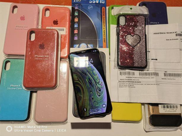 iPhone Xs 64GB Space Gray Desbloqueado C/Garantia Aceito Retomas
