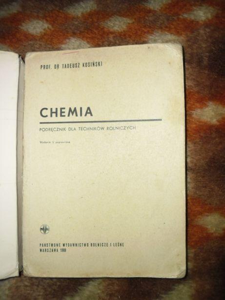 Chemia -podręcznik dla techników rolniczych