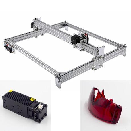 CNC a laser com laser 5500mw ideal para gravação