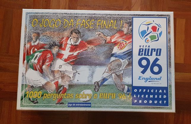 Jogo 1000 preguntas Euro 96 Vintage