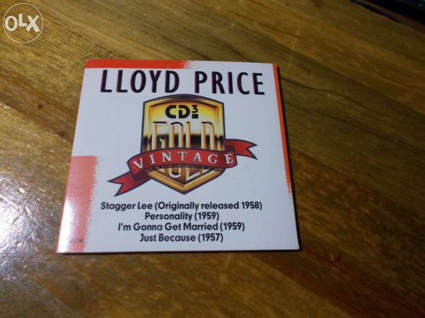 Cd de lloyd price  musica blues