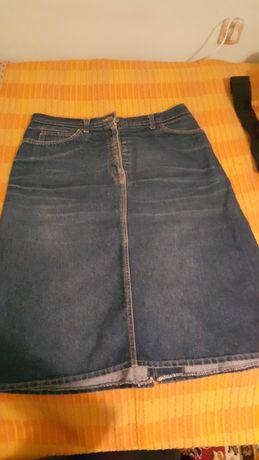 Spódnica  jeansowa L
