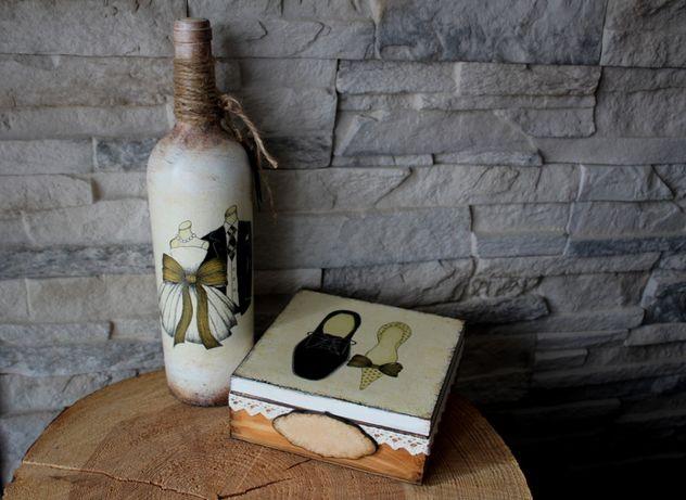 Oryginalny prezent ślubny, rękodzieło, hand made, personalizacja Ślub