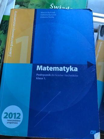 Matematyka podręcznik kl.1 Kurczab