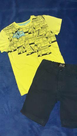 Spodenki i koszulka 116cm