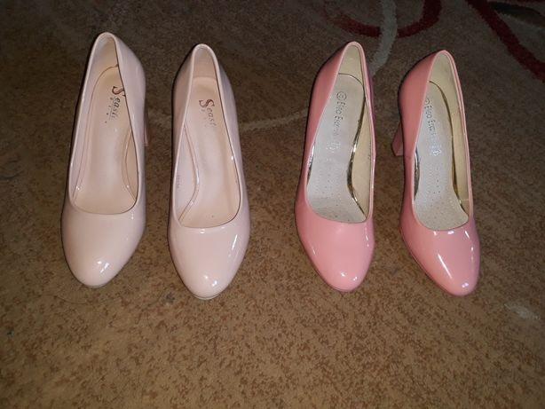 Buty na słupku nowe założone raz