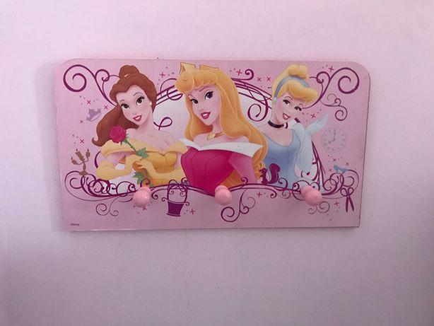 Wieszak Disney Princess na ścianę