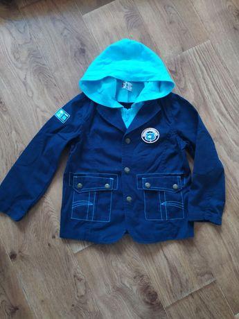 Коттоновая курточка пиджак р.120