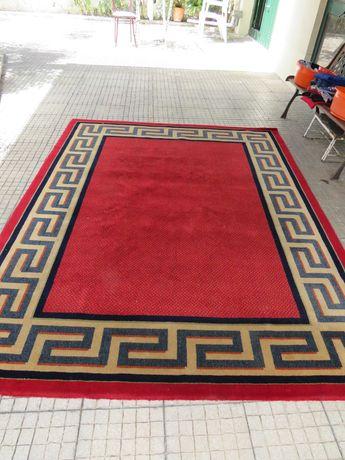 Carpete retangular