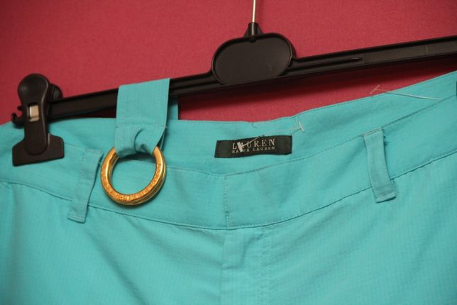 Polo Ralph Lauren 12 L кюлоты из хлопка и нейлона + родной пояс