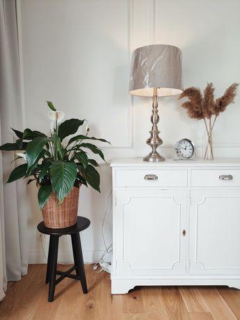 Lampa stołowa XXL westwing vintage Hampton nocna klasyczna glamour