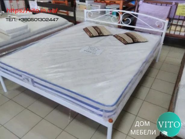 Кровать с матрасом и с доставкой 160х200, расчет при получении.