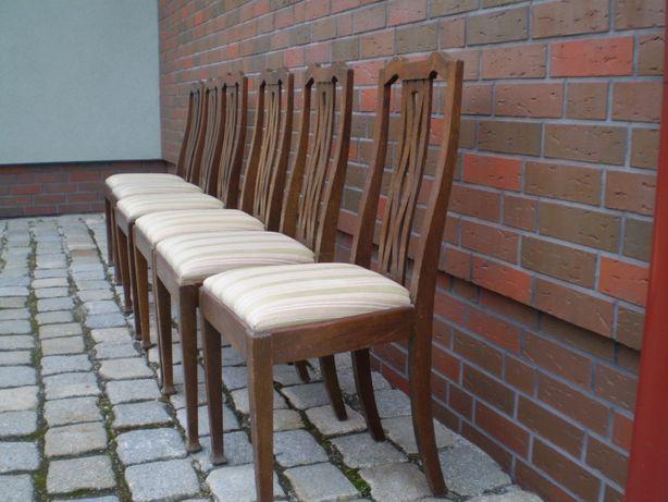 antyk krzesla 6szt