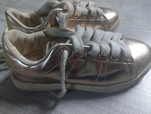 Fajne złote buciki Zara 29