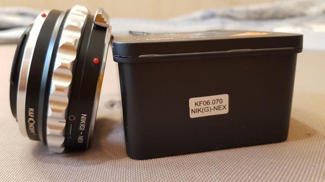 Sony переходник Sony на Nikon