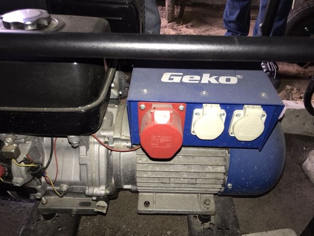 Электростанция (электрогенератор) Geko 6400 ED-A/HHBA 380 V, 5,9 Kw