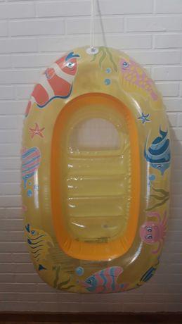Ponton dmuchany dla dziecka wakacje w kolorowe rybki basen dla bobasa