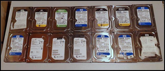 14 sztuk dysk HDD 500 GB