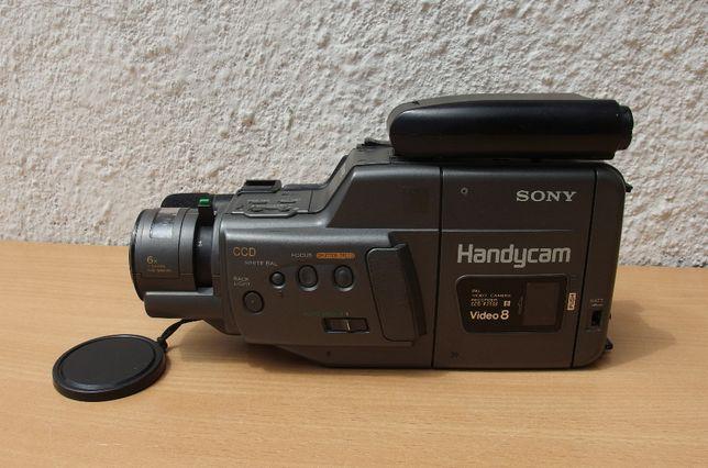 Kamera video 8 Sony CCD-F250E zasilacz/ ładowarka
