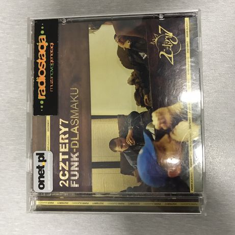Cd 2cztery7 Funk dla smaku pierwsze wydanie