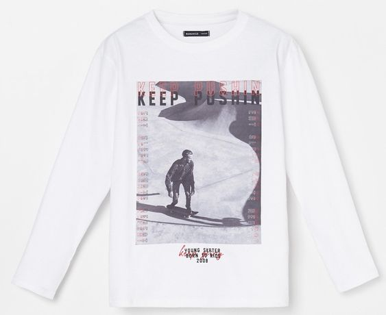 koszulka biała 110 RESERVED H&M nowa