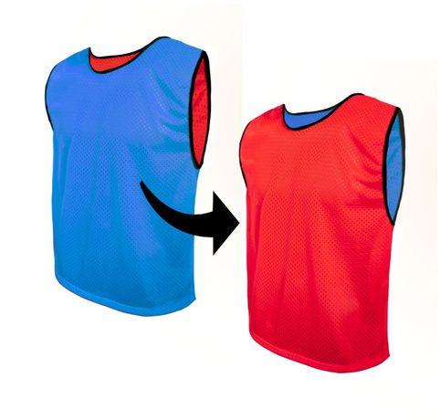 Znaczniki DWUSTRONNE sportowe Koszulki PIŁARSKIE treningowe