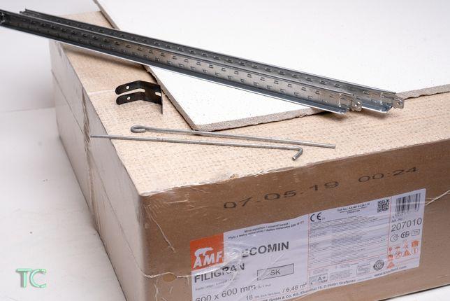 Подвесной потолок, плита Filigran 600*600 мм 13 мм
