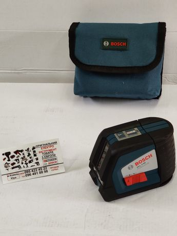 ОРИГИН лазерный нивелир сГермании Bosch GLL 2 50/уровень/нівелір/лазер